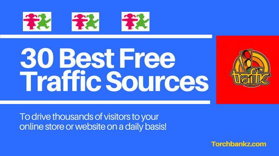 free traffic source for ecommerce store