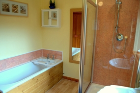 Relax in Torcroft Lodges Shower