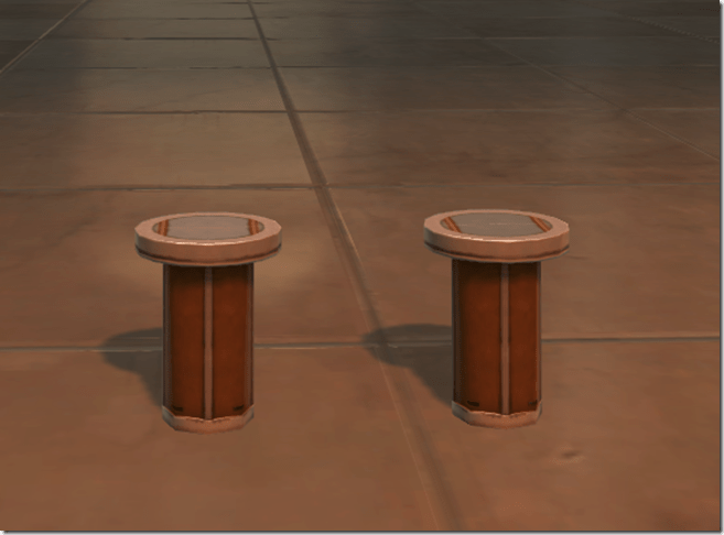 Cantina Stools (Fancy) 2