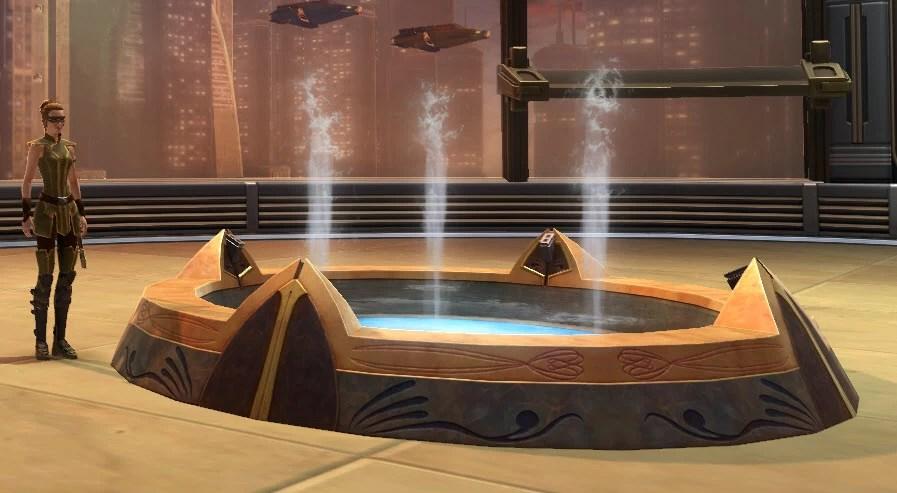 Fountain Jedi Temple 2