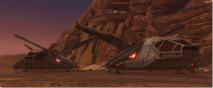 Imperial Transport Shuttles