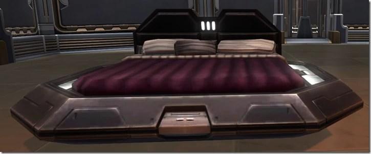 Luxury Bed (Plum)