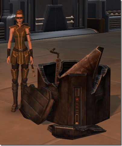 Neutronium Speeder Parts