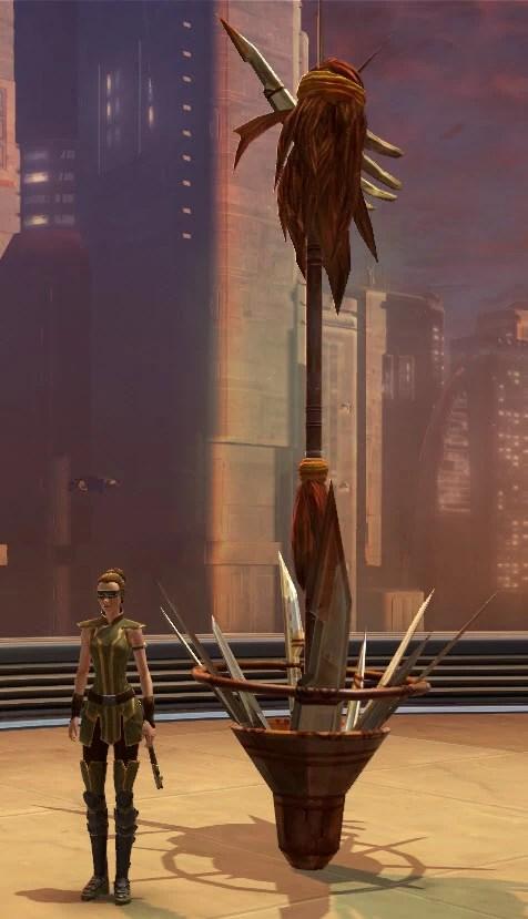 Tribal Blade Totem 2
