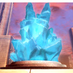 Gigantic Crystal (Cyan)