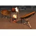 Arrangement: Tribal Campfire