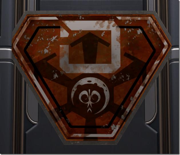 Battle-Worn Imperial Placard 2