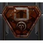 Battle-Worn Imperial Placard