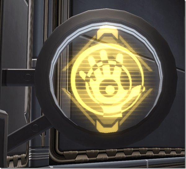 Circular Sign Consular 2