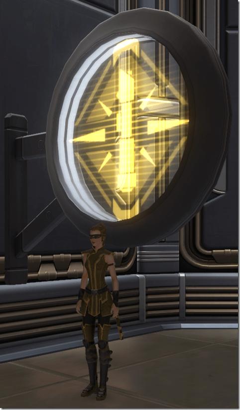 Circular Sign Knight
