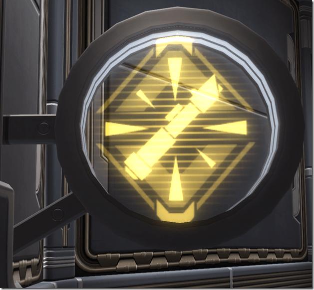 Circular Sign Warrior 2
