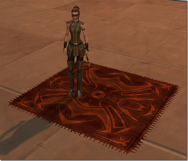 Ornate Merchant's Rug 2