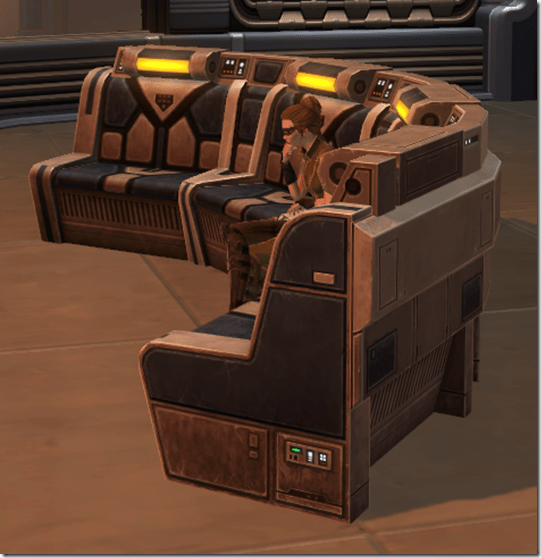 Republic Starship Couch 2
