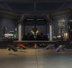 Alwiin's Coruscant Garage - The Red Eclipse