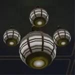 Massassi Ceiling Light