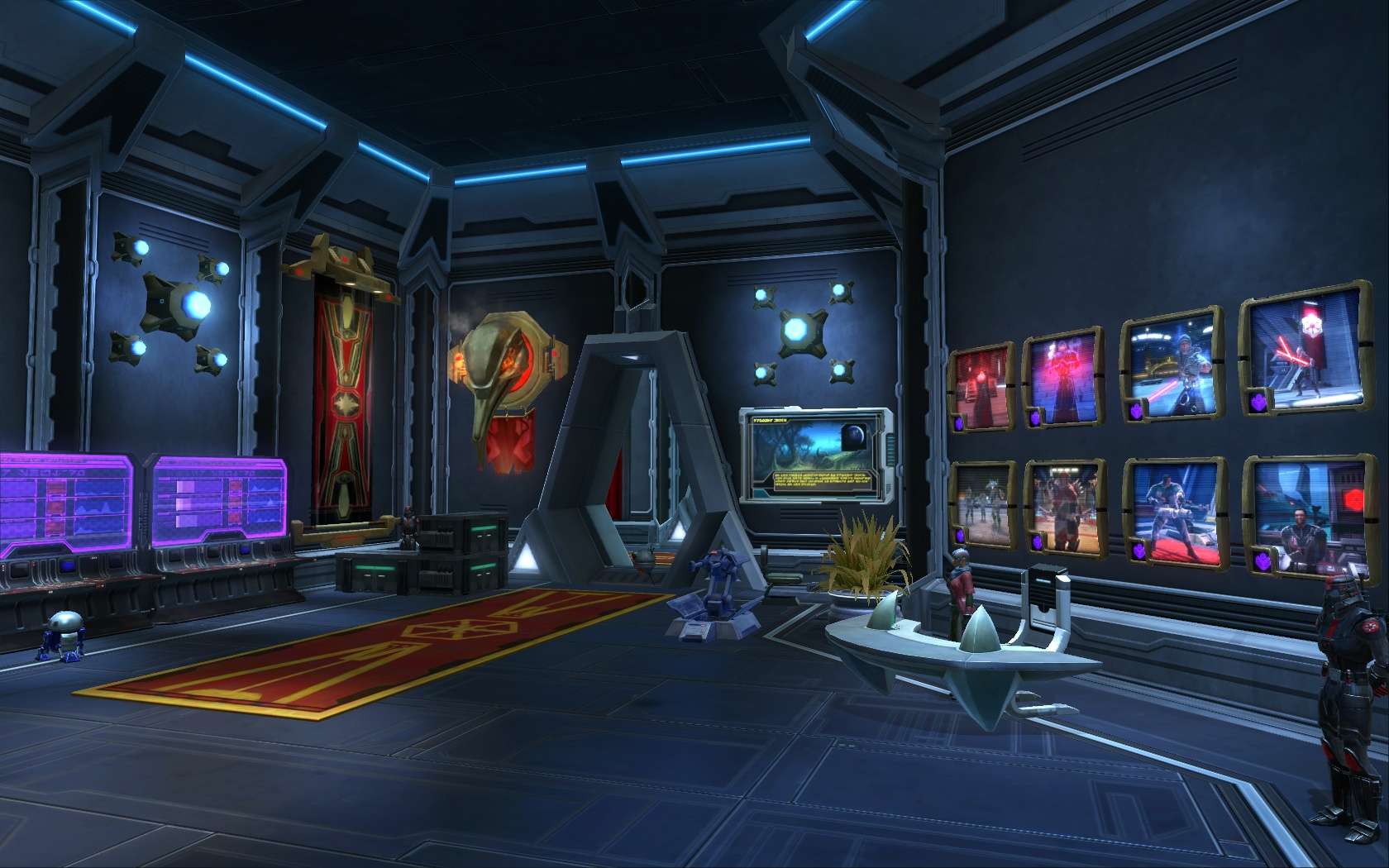 TOR Decorating | Avshalom's Sith Academy - Battle Meditation (SWTOR)
