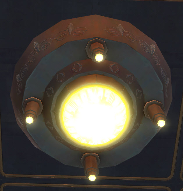 Temple Ceiling Light