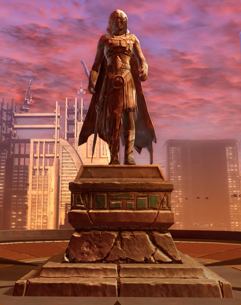 Commemorative Statue of Revan