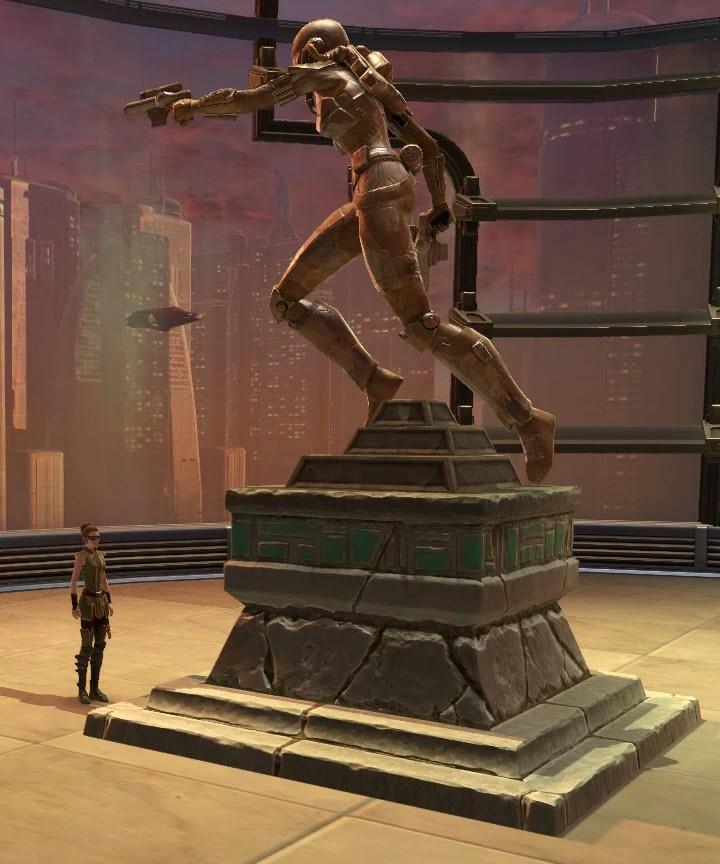 Commemorative Statue of Shae Vizla 2