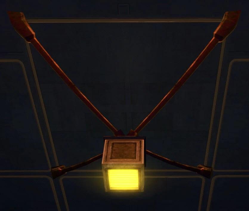 Rakata Hanging Lights (Yellow)