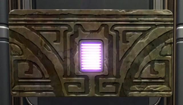 Rakata Mantlepiece Purple