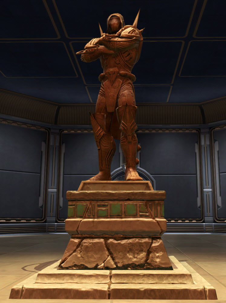Commemorative Statue of Darth Marr