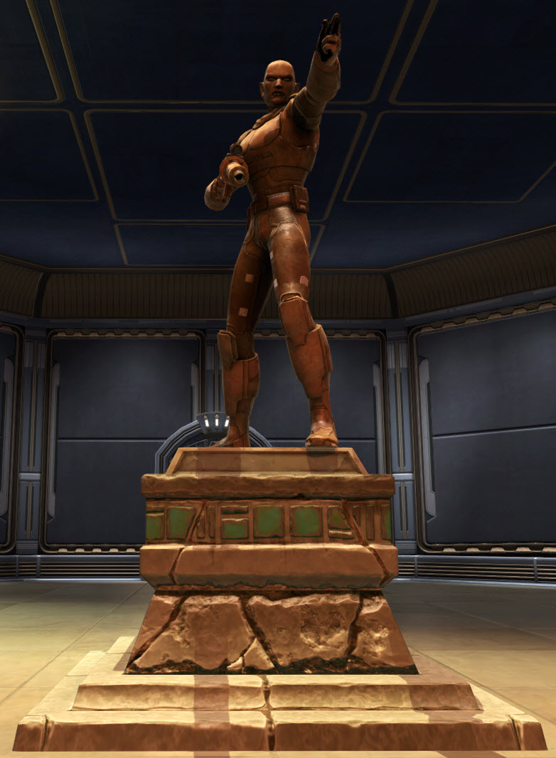Commemorative Statue of Aric Jorgan