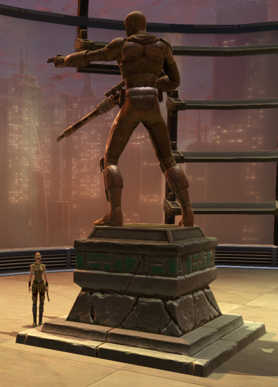 Commemorative Statue of Aric Jorgan 2