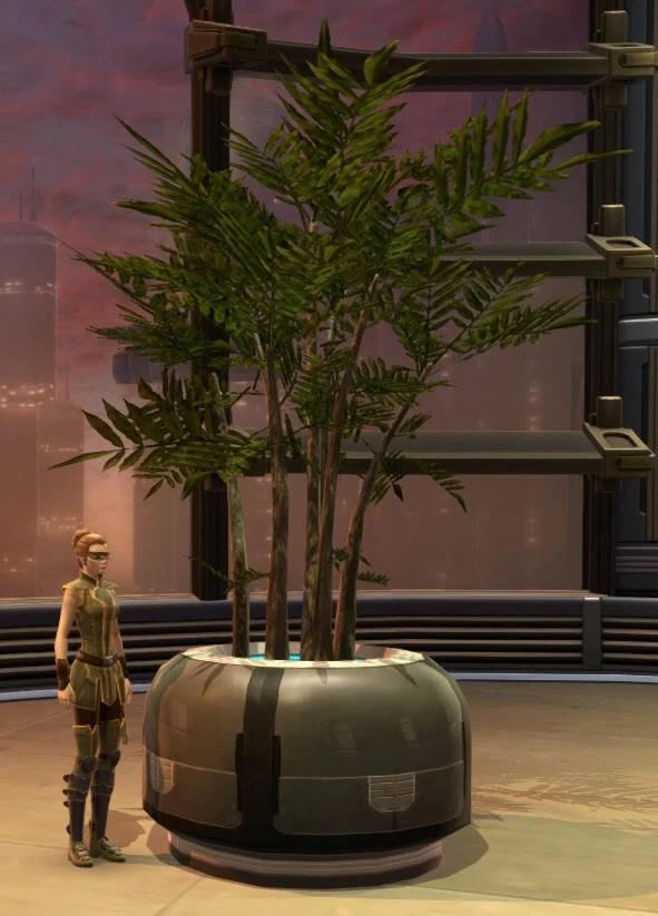 Potted Plant Zakuul Vertical Bush 2