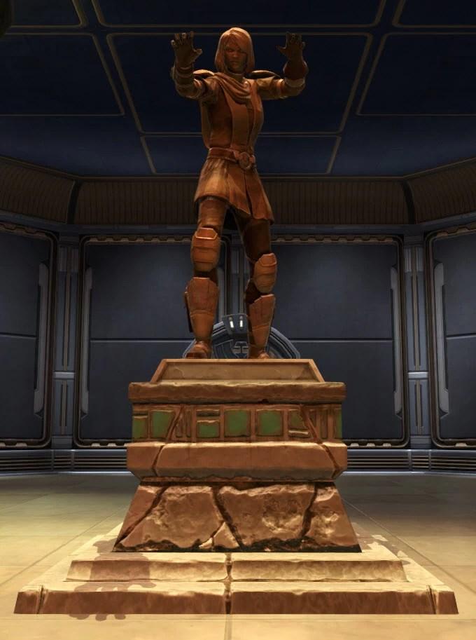 Commemorative Statue of Lana Beniko