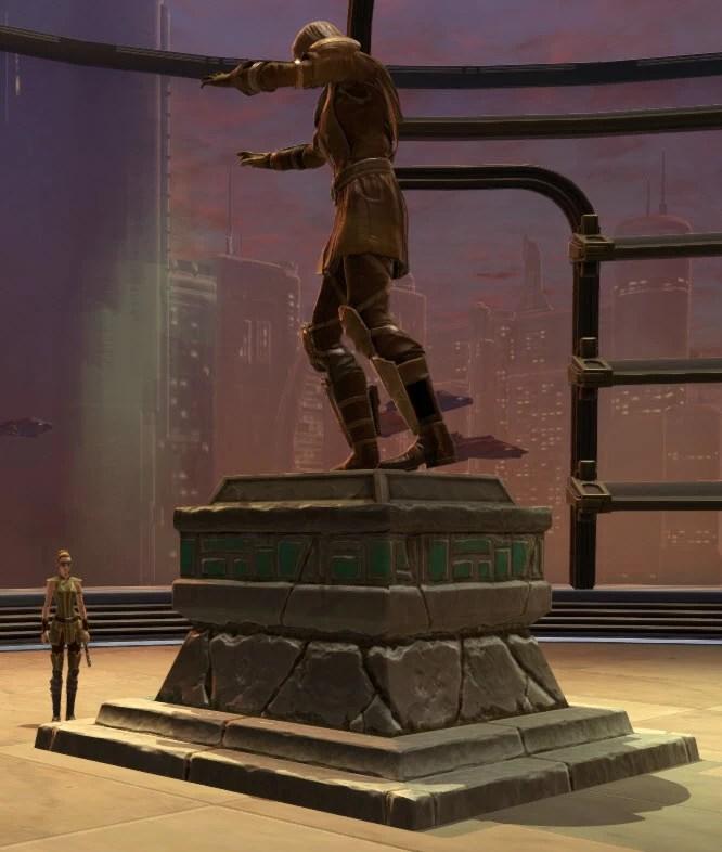 Commemorative Statue of Lana Beniko 2