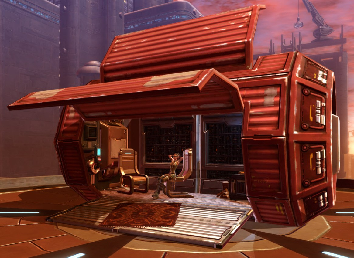 Underworld Housing Container Red 2