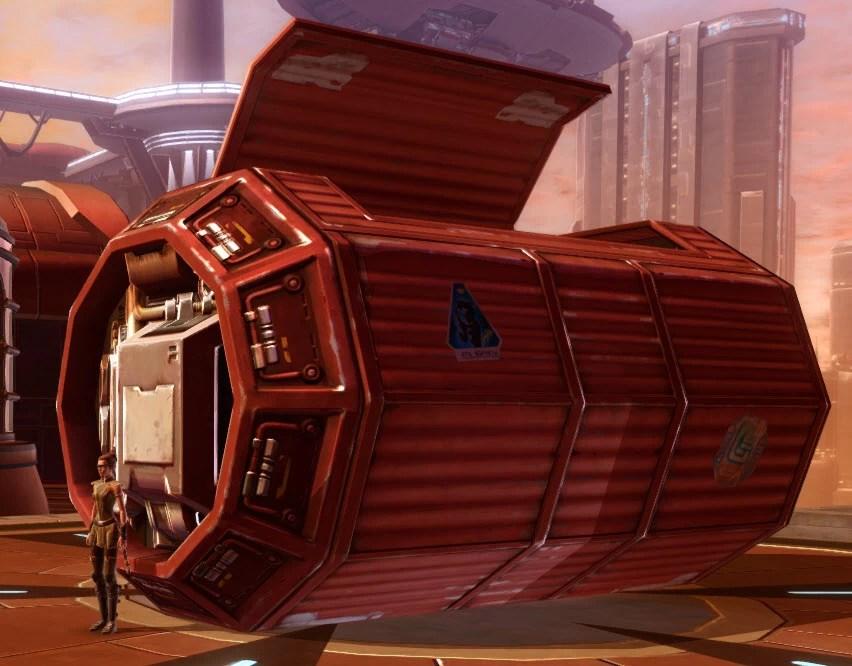 Underworld Housing Container Red 3