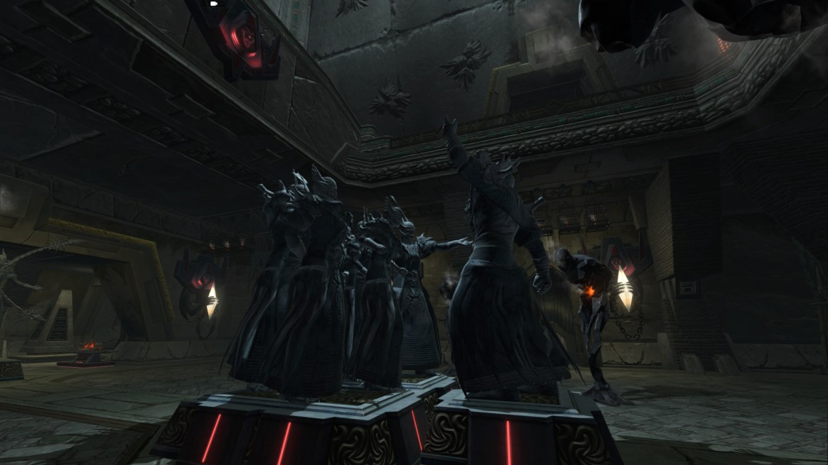 TOR Decorating   The Dreadful Citadel - The Harbinger (SWTOR)