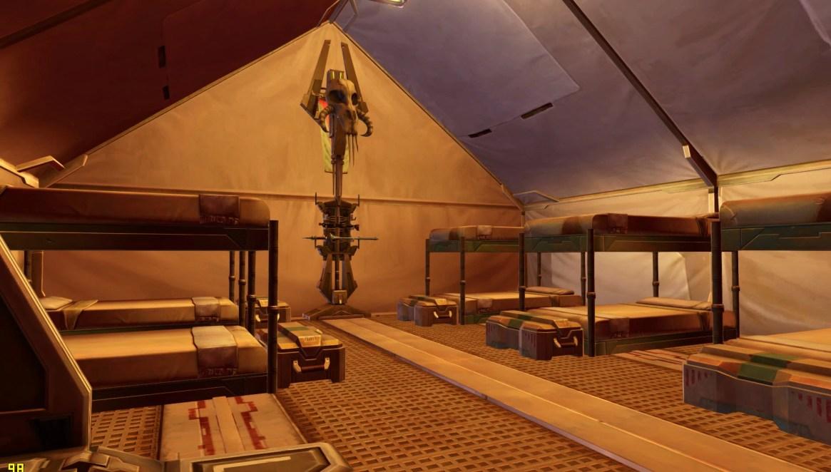 Mandalorian War Tent 2