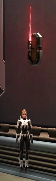 Unstable Arbiter's Saber Imperial Crimson 2