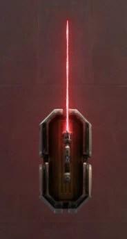 Unstable Arbiter's Saber Imperial Crimson