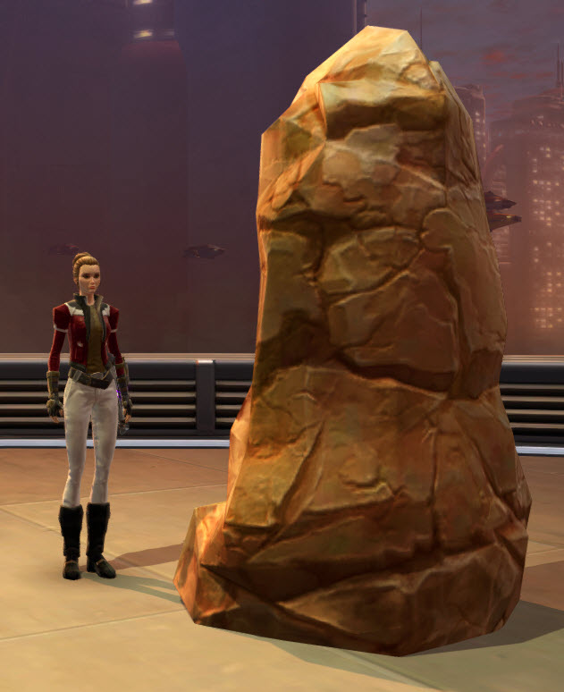 Jedi Knight Meditation Pillar 2