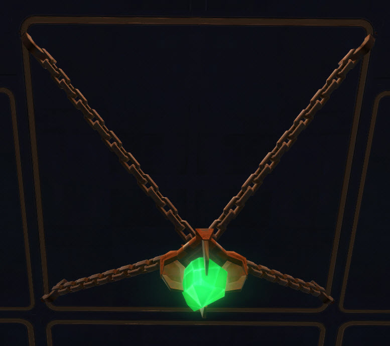 Suspended Forge Crystal