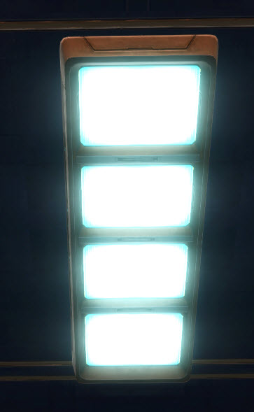 Zakuulan Battlecruiser Ceiling Lights