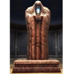 Sith Tomb Column Statue