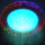 Dynamic Underworld Ceiling Light (Blue)