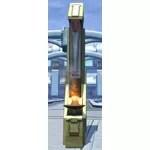 Mandalorian Pillar