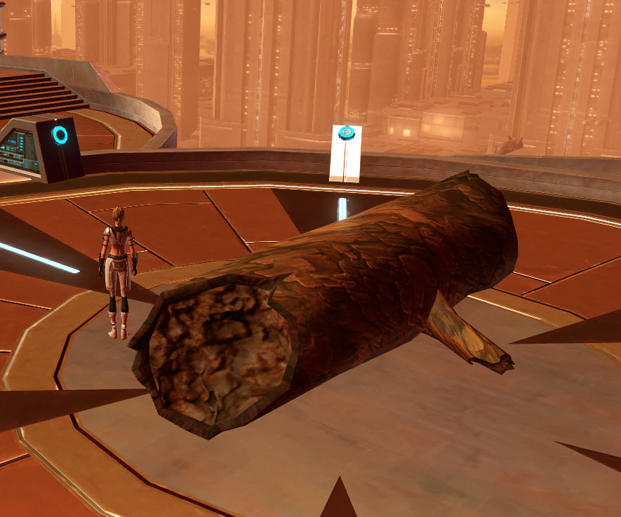Tree: Fallen Alderaan Log