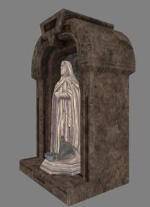 Small Jedi Master Shrine