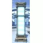 Illuminated Pylon