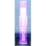 Holo Sign: Bar (Purple)