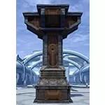 Enclave Brass Four-Way Column