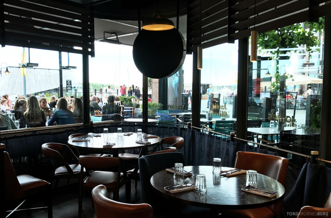 Jamie's Italian Aker Brygge Oslo inne