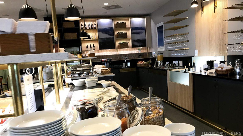 SAS Plus Stockholm Trondheim gold lounge